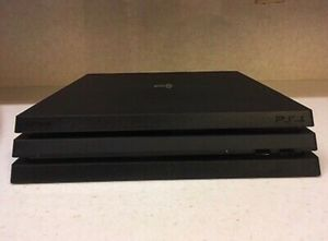 Sony PlayStation 4 PS4 Pro - 4K 1TB Jet Black Console w Controller & Accessories for Sale in Fresno, CA