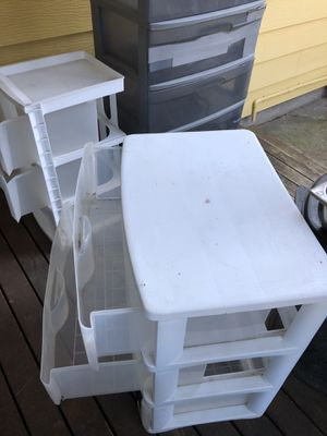 Plastic storage drawers for Sale in Portland, OR
