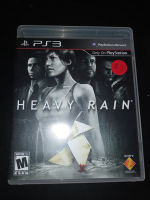 Ps3 Heavy Rain for Sale in Cleveland, OH
