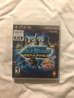 PlayStation All-Stars Battle Royale for PS3 for Sale in Duarte, CA