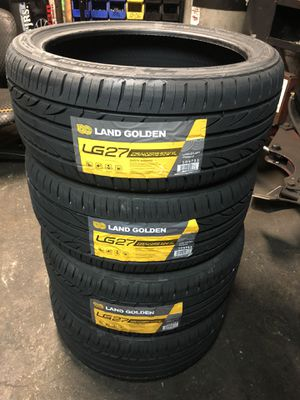 4 NEW TIRES LAND GOLDEN LG27 225/40ZR18 for Sale in Lynwood, CA