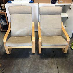 FREE - Poang IKEA Lounge Chairs - FREE for Sale in Ballwin,  MO