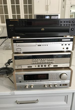 Marantz special edition disc players, cassette deck and stereo receiver SR 92 like new for Sale in Township of Washington, NJ