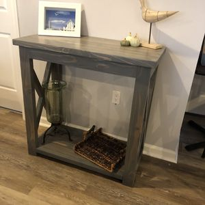 Handmade Farmhouse Style Console Table for Sale in Glenwood, MD