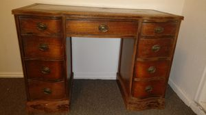 Wooden Table with drawers for Sale in Pittsburgh, PA