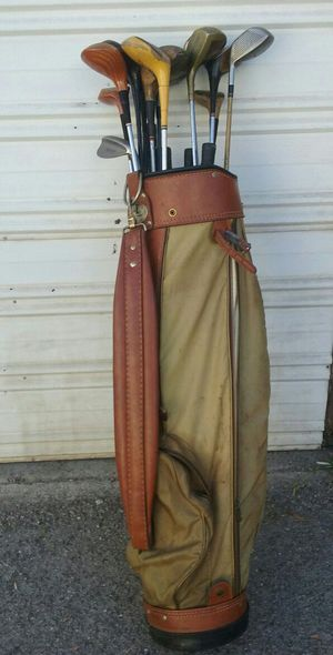 Old Golf Clubs and Bag for Sale in Santa Monica, CA