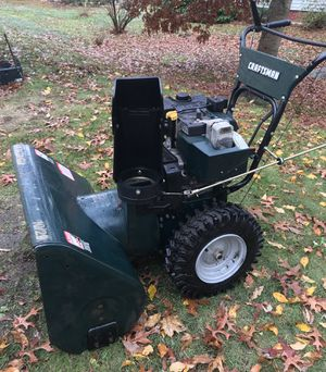 Craftsman 9 hp, 29 inch snowblower for Sale in Holbrook, MA