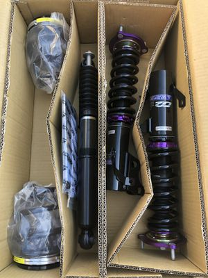 D2 Racing 12-13 Civic Si & Non Si Coupe and Sedan RS Series Coilovers for Sale in Garden Grove, CA