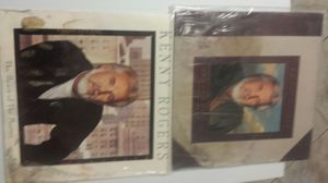 Kenny Rogers vinyl records both for $5 for Sale in Pasadena, TX