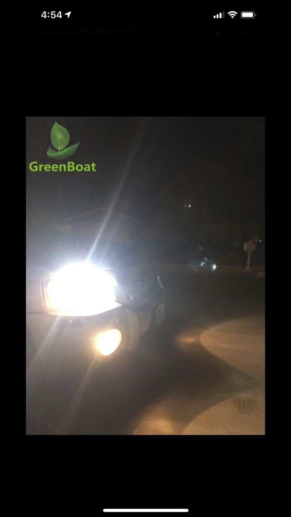 LED Car led headlights kit leds H4 H7 H8 H9 H9 H11 H10 9003 9004 9005/HB3 9006/HB4 9007 9008 H13 All size in stock Pick up with your car inf
