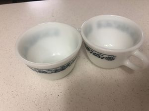 2 tea cups by Corning Pyrex for Sale in Garland, TX