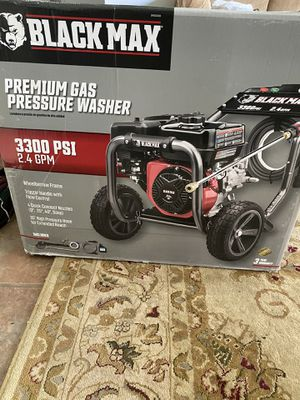 Blackmax gas pressure washer for Sale in Houston, TX