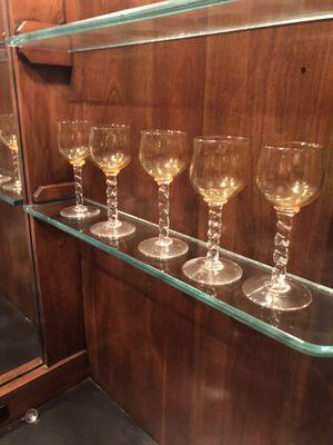 5 Retro MId Century Cordial glasses for Sale in Waynesburg, PA