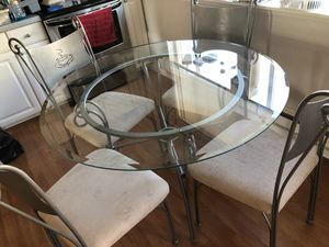 Glass kitchen table - Coffee decor for Sale in Graham, WA