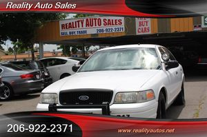 2001 Ford Crown Victoria Police Pkg for Sale in Seattle, WA