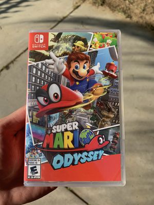 Super Mario Odyssey (BrandNew) Nintendo Switch for Sale in Riverside, CA