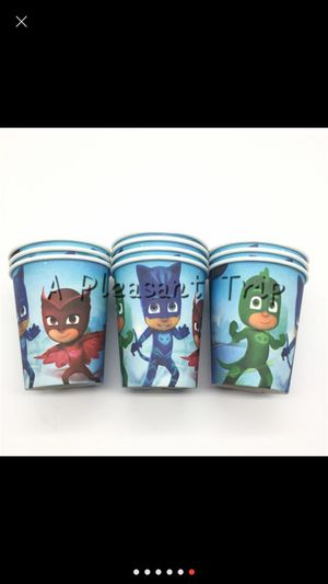 20 PJ Mask cups for Sale in Los Angeles, CA