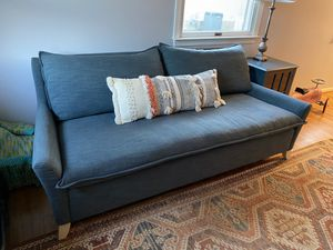 West Elm Bliss Sofa - Teal for Sale in Falls Church, VA