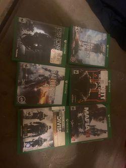 Xbox one games for Sale in Autaugaville,  AL