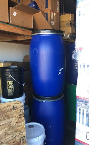 Plastic 55 Gallon Drums , tank 4 ready Now! for Sale in Tempe, AZ