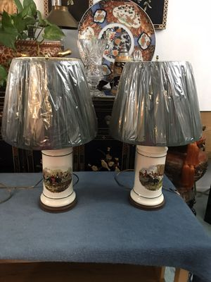 Two beautiful lamps for Sale in Upland, CA