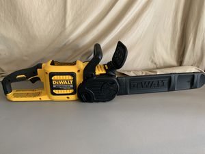 DEWALT 60-Volt MAX Lithium Ion Cordless FLEXVOLT Brushless 16 in. Chainsaw (Tool Only) - comes as pictured for Sale in Spring, TX