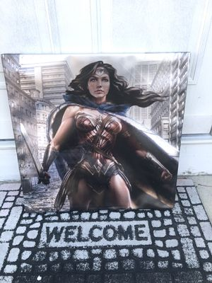 Wonder Woman art on canvas for Sale in Naperville, IL