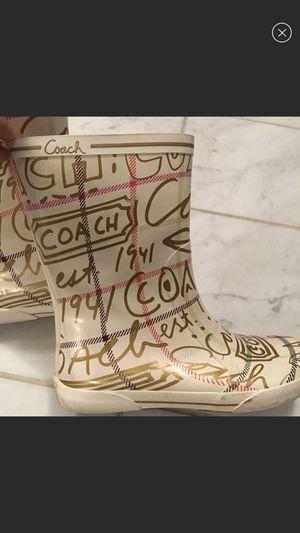 Coach boots for Sale in Alexandria, VA