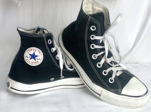 Converse Chuck Taylor High Tops. Blk. Sz. 6 for Sale in Falls Church, VA