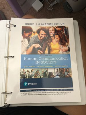 Human Communication in Society for Sale in Raeford, NC