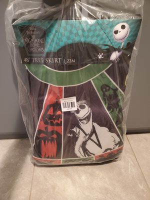 nightmare before christmas tree skirt for Sale in Apple Valley, CA