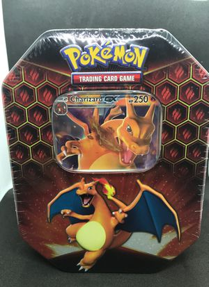 Pokemon Hidden Fates TCG Charizard GX Tin Factory Sealed for Sale in Tampa, FL