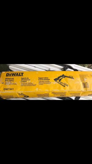 New dewalt table saw extension for Sale in Dallas, TX