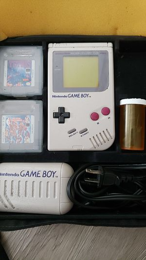 Nintendo GameBoy 1990 version with rare accessories for Sale in San Diego, CA