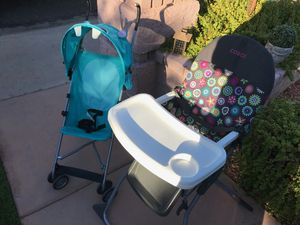 Baby high chair & stroller set for Sale in Phoenix, AZ