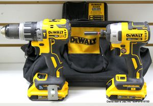 DEWALT 20V MAX XR Hammer Drill w/ Bluetooth Tool Connect (DCD797) / DEWALT Cordless Impact Driver (DCF887) - KIT for Sale in Fort Lauderdale, FL