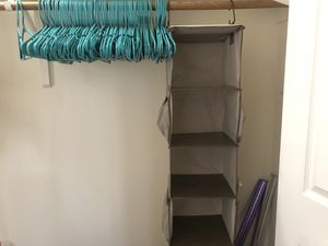 Hangers and closet organizer for Sale in Des Plaines, IL