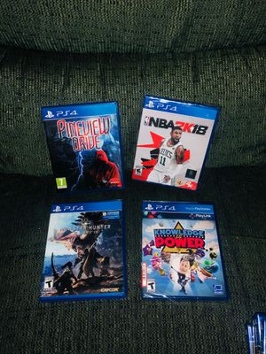 PS4 GAMES for Sale in Ontario, CA