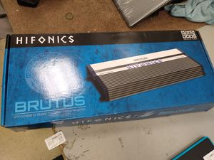 Hifonics Brutus amp for Sale in Chicago, IL