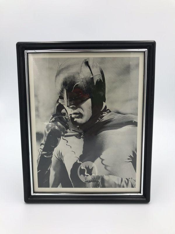 Vintage Framed BATMAN Promotional Photograph