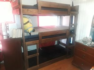 3 layer bunk beds for Sale in San Antonio, TX