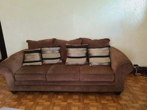 Sofa, loveseat, and chair with ottoman for Sale in St. Louis, MO