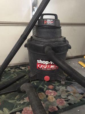 Shop vac 50 gallon wet &dry VACUM for Sale in Mechanicsburg, PA
