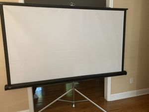 Projector screen for Sale in Princeton, NJ
