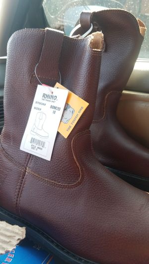 Mens work boots for Sale in Garland, TX