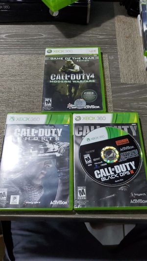 Call of Duty xbox 360 games for Sale in Homestead, FL