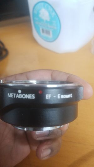 Metabones canon ef to Sony e-mount electronic adapter! for Sale in Philadelphia, PA
