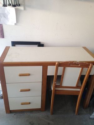 Kids desk an chair been in family 50+ years for Sale in Carlsbad, CA