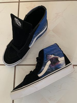 Vans Skate SK8 High Hi Shark Week Rare Brand New for Sale in Hayward, CA