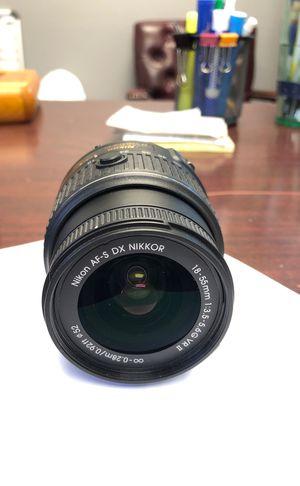 Nikon DX VR 18-55mm lense for Sale in Miami, FL